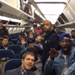 """VIDEO: Seahawks told 49ers """"Bye Felicia"""" on their plane after their 19-3 win http://t.co/48sdM12CMS http://t.co/255FxMQd5p"""