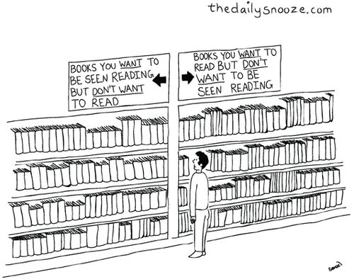 A new way for bookstores to shelve books? http://t.co/2HdeugHT8u Works for me! http://t.co/ep5IOj6AnO