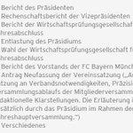 Los geht's, Präsident Karl Hopfner eröffnet die #FCBJHV! Hier die Tagesordnungspunkte in der Übersicht: http://t.co/pEe2QfnNwe