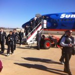 The No. 2 @UMD_Football Bulldogs have arrived in Little Rock, Ark., for tomorrows NCAA playoff bout with OBU. http://t.co/FueJYufH0E