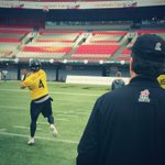Coach Austins view as Day 3 of practice gets underway at BC Place. #Ticats #GreyCup #CFL http://t.co/FpdvYqiCCj