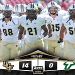 HALFTIME! #TakeoverTampa #UCFvsUSF #ChargeOn http://t.co/a8iSd6Gk1P