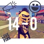 Our @UCFKnights are 14-0 at the half! GO KNIGHTS! #UCF #ChargeOn http://t.co/knAaM5T2aj