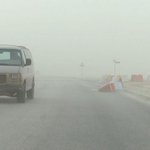 موجة غبار ورياح قوية تعرضت لها أغلب مناطق الدولة اليوم مما تسببت في تدني مستوي الرؤية الأفقية. #الراية #قطر http://t.co/v52XlPns6Z