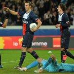 Le #PSG reste sur une série de 3 victoires consécutives face à Nice (Record 4 de 1995 à 1997). #PSGOGCN http://t.co/z9XFjfGLli