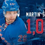 THERE IT IS!!! Congratulations @mstlouis_26 on your 1,000th career @NHL point! #NYR http://t.co/EjpEwnApOt