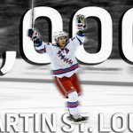 Congratulations @mstlouis_26 on your 1,000th career @NHL point! #NHLonNBC http://t.co/KCSEZWLTrf