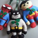 Have a super #Christmas with these fab #handmade #superhero decorations only £5.50! https://t.co/swcXg7dVx8 http://t.co/zswR88ugEJ