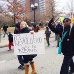 #dayton protest today #BlackLivesMatter @OHIOStudents #shutitdown http://t.co/0uhBMP9pZ6