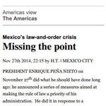 Decepciona a medios internacionales las medidas de EPN #EstadoFallido #YaMeCansé http://t.co/IFTRRwUt8d http://t.co/6dSffd8060
