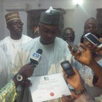 Happy to annouce that I have been successfully screened by APC National Screening Committee; to Re-contest for Senate http://t.co/EK46LgjaER