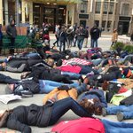 #Ferguson protests escalate on Black Friday in Missouri, NYC, Oakland, Chicago. http://t.co/8EpaSCX8NW http://t.co/hukOW7AWMr