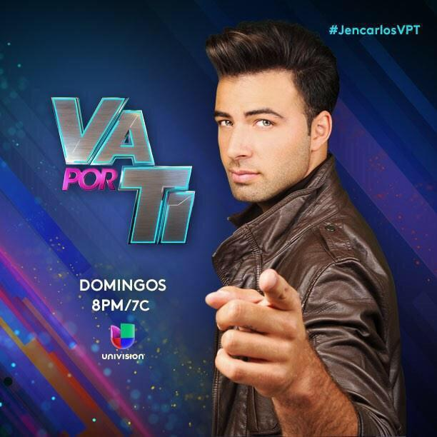 ¡ Este Domingo no se pierdan la Gran Semi-Final de @vaporti con nuestro @jencarlosmusic 8PM/7C por @Univision ! http://t.co/D6x1fGLiOR