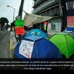 Realizan plantón en Veracruz para exigir libertad de detenidos en Zócalo -> http://t.co/SLrnWcrqzs http://t.co/XnBQKNLFWZ