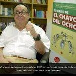 """Fallece Roberto Gómez Bolaños, """"Chespirito"""", a los 85 años -> http://t.co/e4pBpDMOkA http://t.co/NM3LNcFiQL"""