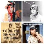Gracias #Chespirito por acompañarnos desde nuestra infancia... SIN DUDA hiciste que fuera mas hermosa y divertida!!❤️ http://t.co/qsTpvomKiv