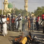 """""""They started shooting randomly at worshippers"""" - eyewitness to #Kano mosque attack, Nigeria http://t.co/T8lP3FWs8M http://t.co/9PmUr80p0a"""