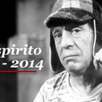 """Muere el gran comediante Roberto Gómez Bolaños, 'Chespirito' ¡Gracias por tanto! http://t.co/tKv7yMiw5a"""""""