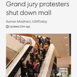 #Ferguson protesters shut it down, literally at major St Louis mall, Galleria. @wusa9 -> http://t.co/zIZdu55F0r http://t.co/MPOdGruSyw