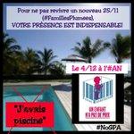 Bonsoir @lauredlr Le 4 décembre une loi contre la #GPA sera votée à l#AN Votre présence est nécessaire! #noGPA http://t.co/q6Yl9hO9KE