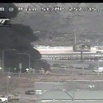 BREAKING: Semi-trailer on fire in Spanish Fork. I-15 connector ramp to US-6 and on-ramp from US-6 to I-15 closed. http://t.co/1wuROYtdw0