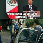"""Ayer: """"Protegeremos los derechos humanos"""" Hoy: Detención arbitraria de #SandinoBucio #YaMeCanse de tus mentiras @EPN http://t.co/01eshPi4nY"""