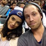 @jonnykanyon & @laysladeo watching the #NotPerfect Raptors at court side in their #NotPerfectHats http://t.co/l1DOXM9pgr