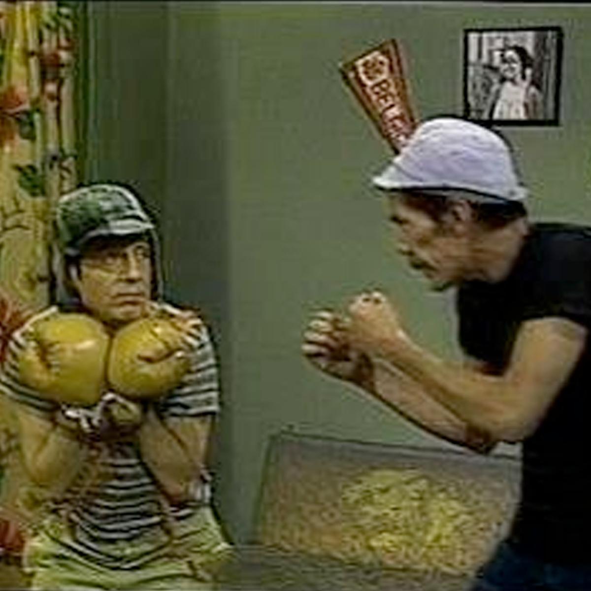 Até ele teve os seus momentos de lutador. Uma homenagem do @ufc_brasil a @ChespiritoRGB, o eterno Chaves http://t.co/wQSenqMvmg