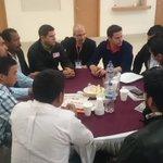 Dialogando con jóvenes de #Guerrero que asistieron a #MetsiPoderJoven. #LosJóvenesQueremosPaz afirman. http://t.co/ak6v5e0bXW