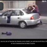 Detiene la @PGR_mx a Sandino Bucio, estudiante de la UNAM; captan momento en video http://t.co/9vumq2MQ1U http://t.co/bgIyhmU7od