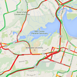 Red everywhere you turn if you are driving. No good alternates #hamont. Just have to settle in http://t.co/U3igizDctH http://t.co/00pJYxHTEJ