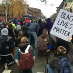 """Protesters say theyll have 4:30 of silence in this intersection on Capitol Hill before they go """"shut shit down."""" http://t.co/9EuCkHBhU2"""
