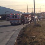 "Hwy 6 off ramp to Spanish Fork closed after tanker exploded. Witness says it ""looked like the 4th of July"" http://t.co/6qaeRDcmwO"