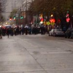 Hundreds of protesters coming up Pike on Capitol Hill #Q13FOX http://t.co/WrAV5Dx8yw