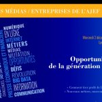 Tout comprendre de la révolution numerique. Venez nombreux et nbreuses mercredi 3 décembre au Lycée Louis Le Grand. http://t.co/vkuxMzCYO6