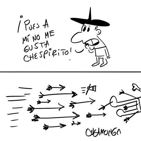 Pues a mí no me gusta #Chespirito … http://t.co/VTwNFA3nVz