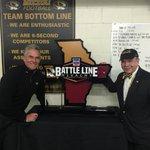 #Mizzou get the 1st Battle Line Rivalry trophy http://t.co/3qZve2ww8W