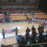 Listos para pelear el bronce dl baloncesto varonil #Cuba vs #PuertoRico #CentroamericanosRTV http://t.co/1aCVcMPAR7