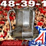 Your @pac12 South Champions and #TerritorialCup winner. #ASUvsUofA #BearDown http://t.co/MoOey9t9WB
