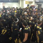 #Mizzou locker room celebrating the 4th Win in November. Those who WIN will be remembered! #Mizzou #SECEastChampions http://t.co/Jpi772UlXS