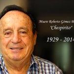 """Transmisión especial: Muere Roberto Gómez Bolaños """"Chespirito"""" http://t.co/KokqIUAL2d #Chespirito #RIPChespirito http://t.co/gCeYd0MndE"""