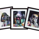 Get these #starwars prints today thru Monday 20% off at http://t.co/eO0KDyxSRL. At checkout use coupon code: Hookup