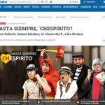 Así han dado la noticia sobre la muerte de #Chespirito los principales diarios internacionales http://t.co/1ZvFNHO8H0 http://t.co/wEyDvzCTX6