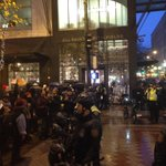 Scene at 5th Ave and Pike St. right now. http://t.co/sWWRkhdU9t