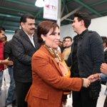 Hoy el Gobernador @Paco_Olvera acompañó a @Rosario_Robles_ Secretaria @SEDESOL_mx a un diálogo con jóvenes. http://t.co/IL7mVS5lzQ