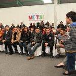 Jóvenes participantes de Encuentro @METSIPoderJoven externaron a la Secretaria @Rosario_Robles_ sus inquietudes. http://t.co/AarZY0plai