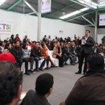 El Gobernador @Paco_Olvera y @RomeroCoello Titular @ImjuveMX agradecieron a @Rosario_Robles_ dialogo con jóvenes. http://t.co/DZZLoxcJcm