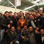 #Fotogalería Secretaria @Rosario_Robles_ acompañada por Gobernador @Paco_Olvera dialoga con jóvenes @METSIPoderJoven http://t.co/K9nza0k0y5