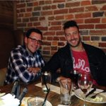 @Tommy_G @ConnorBarwin98 @GoBEARCATS Dinner at Prime Stache with former bearcats http://t.co/DH2bPXocFF