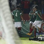 Festejo del primer gol en memoria de @ChespiritoRGB. #PorLaDeOro http://t.co/JooEjWS2nf